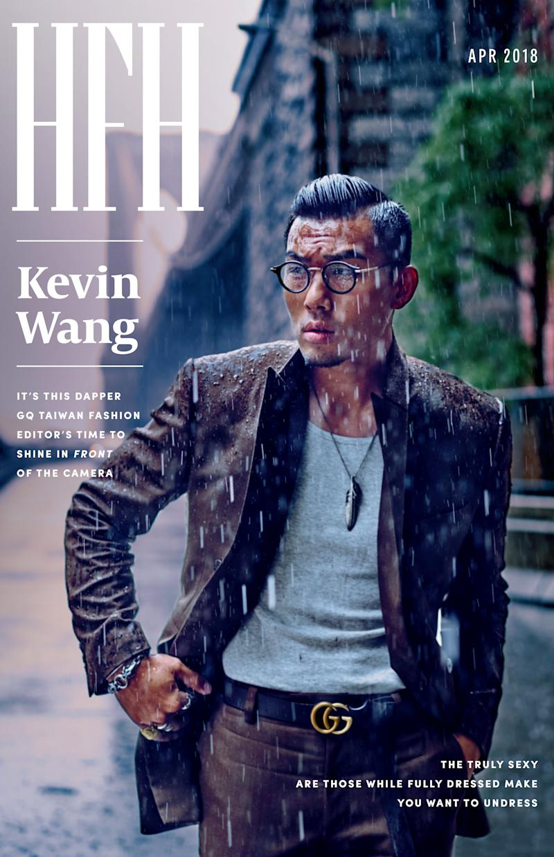 Kevin Wang.  (Photo by An Rong Xu Design By Amanda Lui)