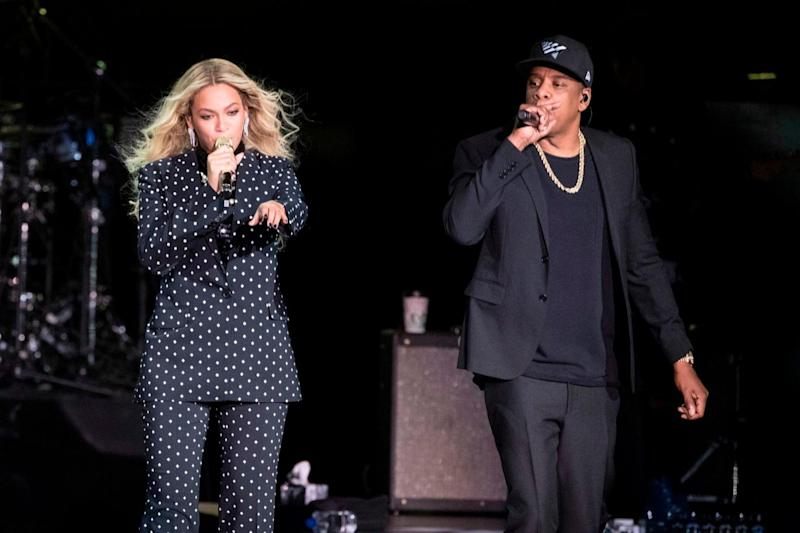 Beyonce and Jay-Z, who released an album together as The Carters, received eight nominations (AP)