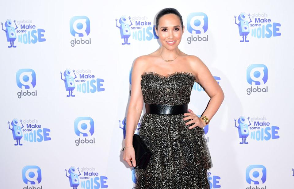 Myleene Klass has opened up about the challenges of a blended family, pictured in November 2019. (Photo by Ian West/PA Images via Getty Images)