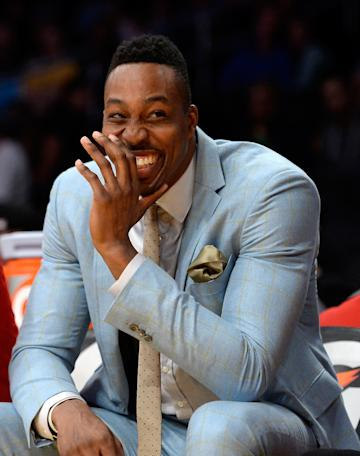 Dwight Howard sat out Sunday night against the Lakers. (Getty)