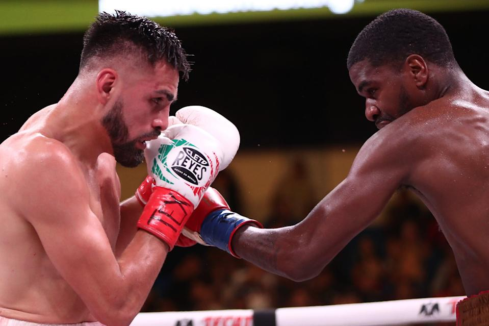 Jose Ramirez beat Maurice Hooker in 2019 to become a unified world championGetty Images