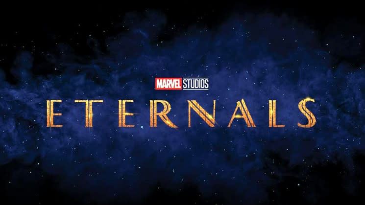 Logo for 'Eternals'. (Credit: Marvel/Disney)