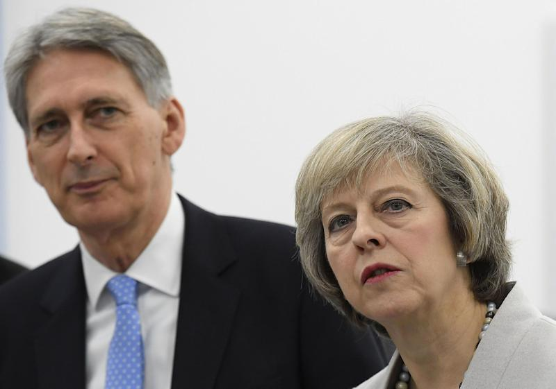The Prime Minister was so proud of the pledge to create the places at 140 new schools, that she chose to announce it personally the day before Philip Hammond's Budget statement: Getty