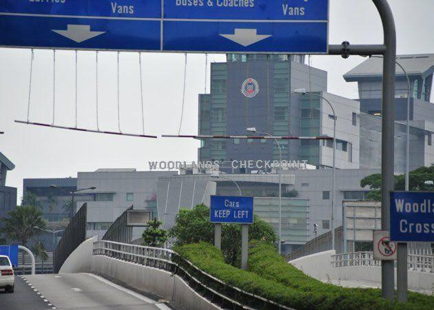 Woodlands Checkpoint (Yahoo file photo)