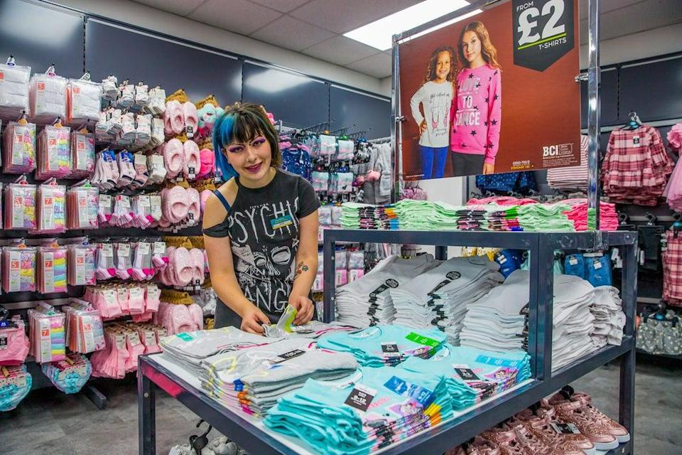 Poundland, which is selling more clothes, will be well-stocked for Christmas, according to its boss. (Pepco / PA)
