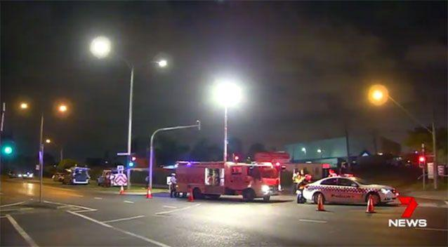 The Yarraville scene. Picture: 7 News