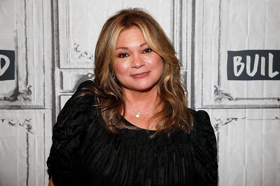 Valerie Bertinelli addressed recent comments regarding her weight in an emotional video. (Photo by Dominik Bindl/Getty Images)