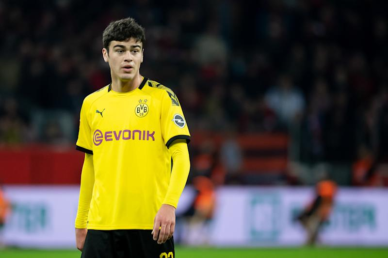 Giovanni Reyna was supposed to make his first start for Borussia Dortmund on Saturday. (Getty Images)