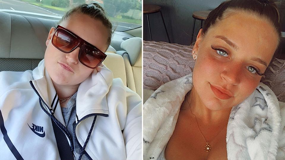 Kayley Lee Ketley (left) and Latia Henderson were charged after another woman was discovered with stab wounds in the boot of a car in the NSW Southern Highlands. Source: Facebook/Instagram