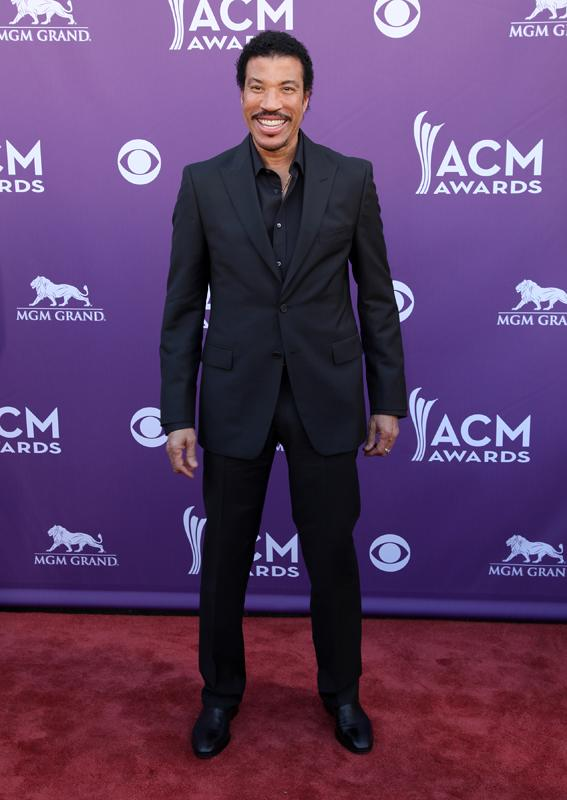 LIONEL RICHIE , Live from the RAM Red Carpet, 47th Annual ACM Awards, Las Vegas, NV