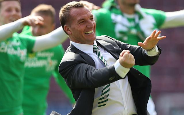 Brendan Rodgers's Celtic are unbeaten in the Scottish Premiership this term - Getty Images Europe