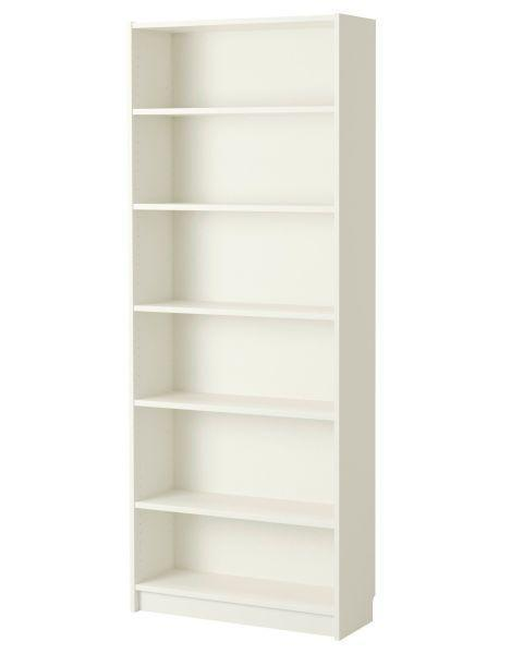"""<p>These classic shelving units are the starting point for many makeovers. </p><p><strong><a class=""""link rapid-noclick-resp"""" href=""""https://go.redirectingat.com?id=74968X1596630&url=https%3A%2F%2Fwww.ikea.com%2Fus%2Fen%2Fcatalog%2Fproducts%2F40279788%2F%23%2F00263850&sref=https%3A%2F%2Fwww.bestproducts.com%2Fhome%2Fg29514474%2Fbest-ikea-hacks%2F"""" rel=""""nofollow noopener"""" target=""""_blank"""" data-ylk=""""slk:BUY NOW"""">BUY NOW</a> </strong><strong><em>$80, <span class=""""redactor-unlink"""">ikea.com</span></em></strong></p>"""