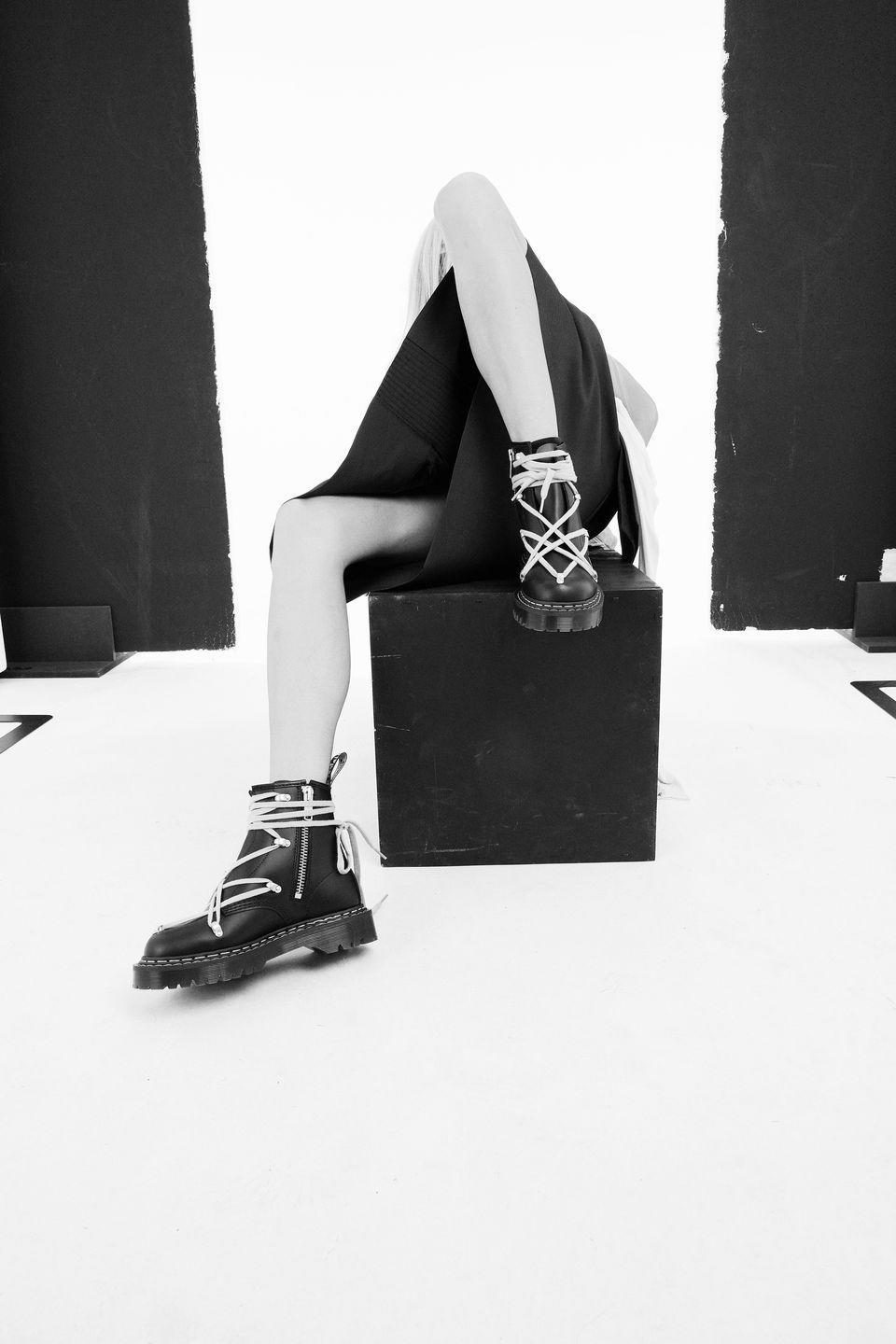 """<p><strong>Who: </strong>Dr. Martens</p><p><strong>What: </strong>Collaboration with Rick Owens</p><p><strong>Where:</strong> Online at Drmartens.com or Rickowens.com</p><p><strong>Why: </strong>It's almost impossible to believe that Dr. Marten's and Rick Owens have never collaborated until now, since both brands represent the irreverent grunge movement born from the early '90s. Owens says of that time that """"Dr. Martens became a symbol of a raw and sweaty vitality."""" Now, almost 40 years later, Owens is dropping two releases with the shoe brand, the first of which is a redux of Dr Marten's 1460 Bex platform boot. Owens has outfitted the boots with intricate lacing, which immediately brings to mind the visceral and complex designs that he has become notorious for. The first drop from the match made in heaven releases on Saturday, March 20. </p><p><a class=""""link rapid-noclick-resp"""" href=""""https://www.rickowens.eu/en/US"""" rel=""""nofollow noopener"""" target=""""_blank"""" data-ylk=""""slk:SHOP HERE"""">SHOP HERE</a><br><strong><br></strong></p>"""