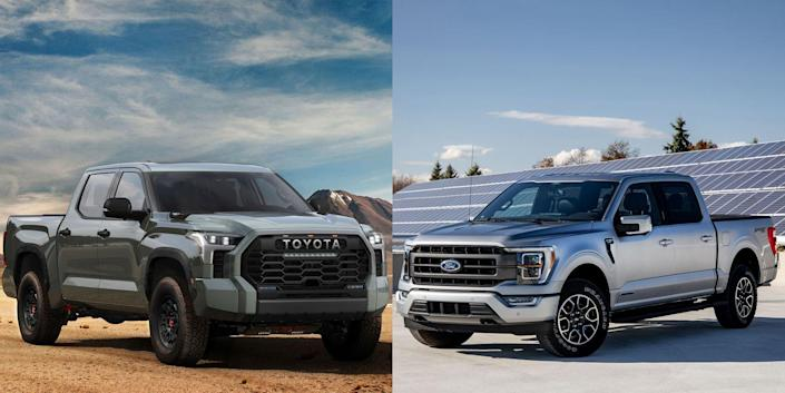 Photo credit: Ford, Toyota