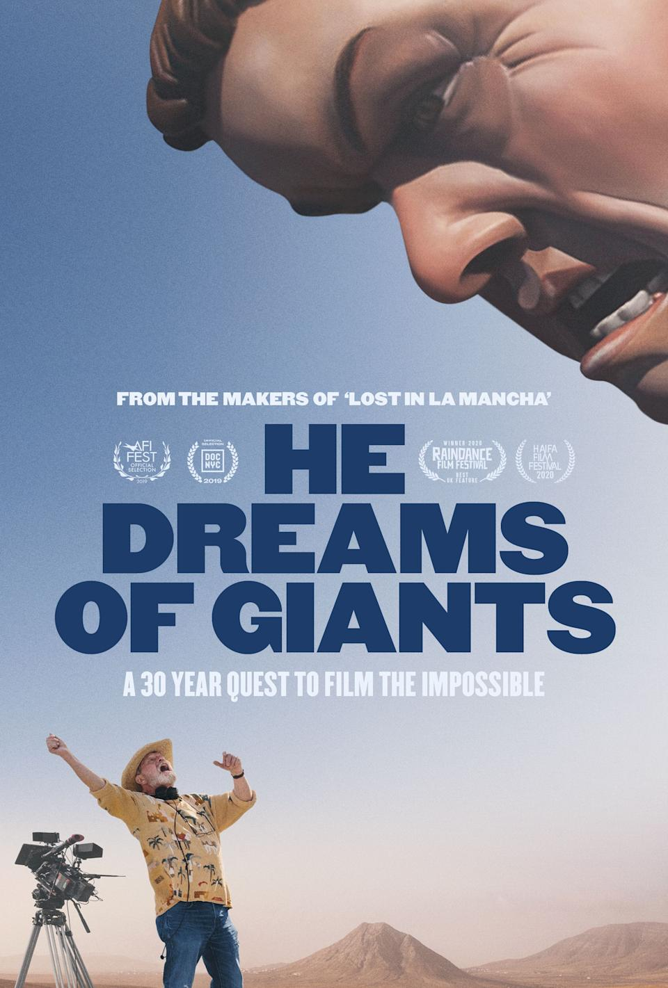 Blue Finch Film Releasing presents He Dreams of Giants on digital platforms 29 March 2021