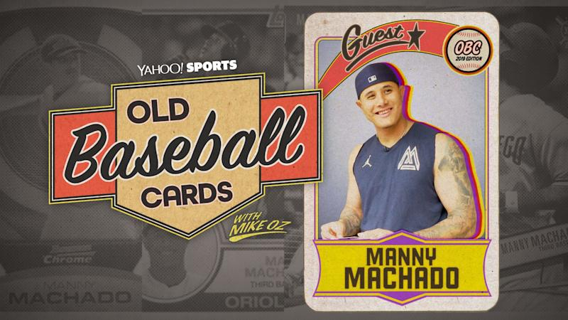 """Padres star Manny Machado talks about Pedro Martinez, the Yankees and Juan Soto on """"Old Baseball Cards"""" (Yahoo Sports)"""
