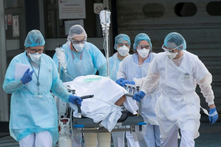 Hospitals in nations hit by COVID-19 are facing surging numbers of patients