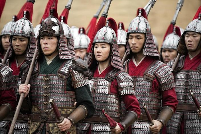 "Disney's ""Mulan"" debuts in China this weekend. <span class=""copyright"">(Jasin Boland / Disney)</span>"