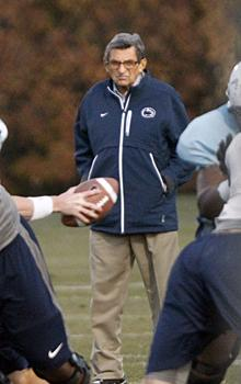Allowing Paterno to coach risky business