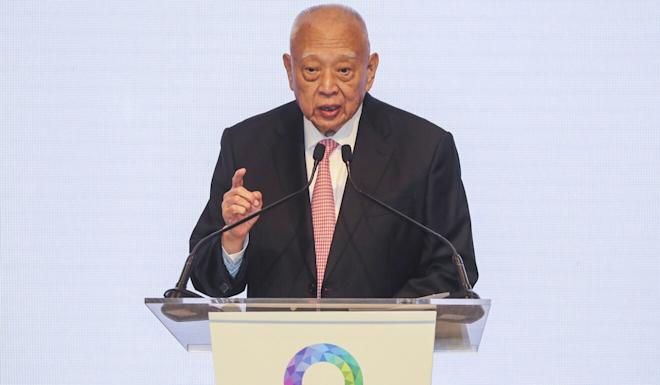 Tung Chee-hwa, Hong Kong's first chief executive. Photo: Edward Wong