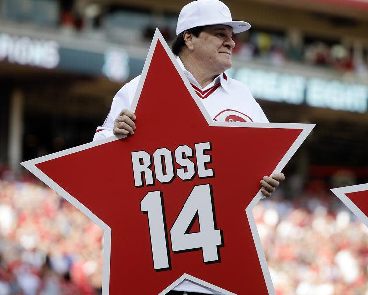 Pete Rose's Hall of Fame hopes may be over once and for all. (AP)