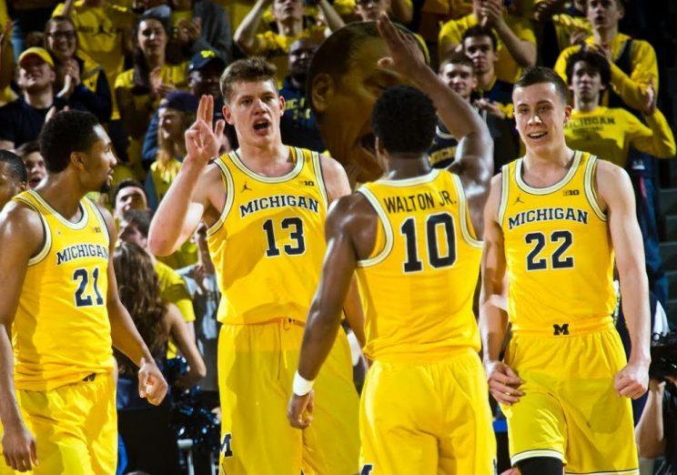 Plane with Michigan basketball team aboard slides off the ...