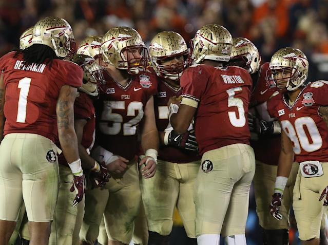 Florida State tops list of College Football Playoff favorites