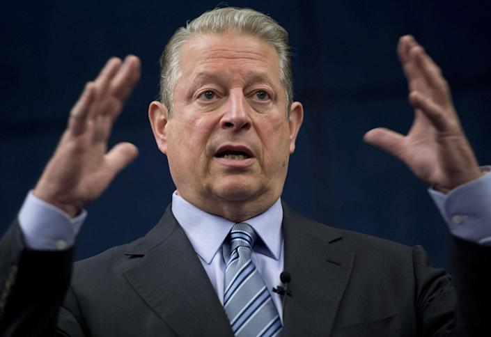 <p>Al Gore has accused Republicans of living in 'fear' of a 'demagogue' president</p>