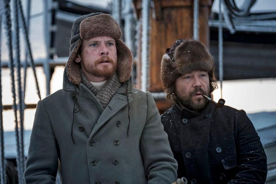 Jack O'Connell and Stephen Graham in The North Water  (BBC/See-Saw Films/Nick Wall)