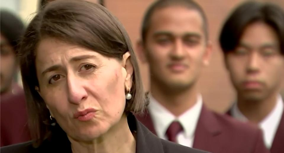 Ms Berejiklian has told NSW to brace for new local cases. Source: ABC