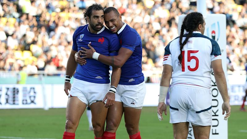 Rugby World Cup 2019: France 33-9 United States