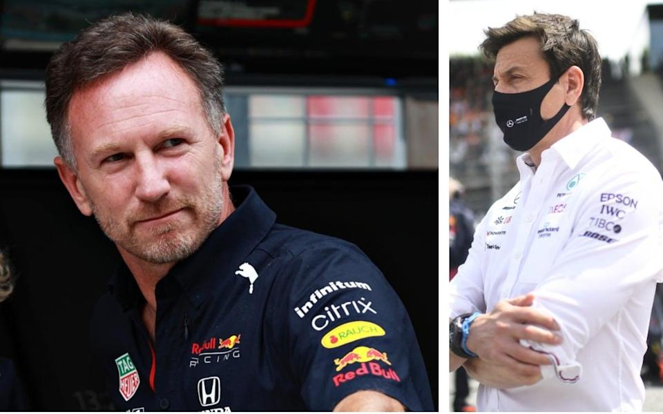 Christian Horner v Toto Wolff - Christian Horner interview: 'Toto Wolff is a control freak — but he can't control us'