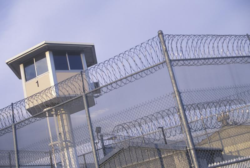 Watch tower at a CA State Prison