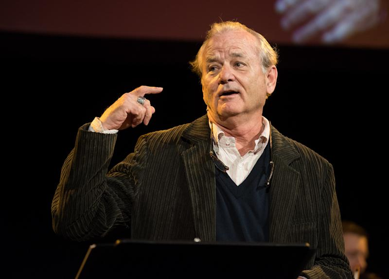 Bill Murray, pictured in October, is known for surprising acts of generosity. (Noam Galai via Getty Images)