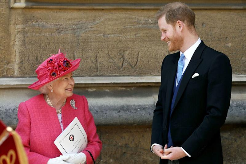 Queen Elizabeth and Prince Harry | Steve Parsons - WPA Pool/Getty