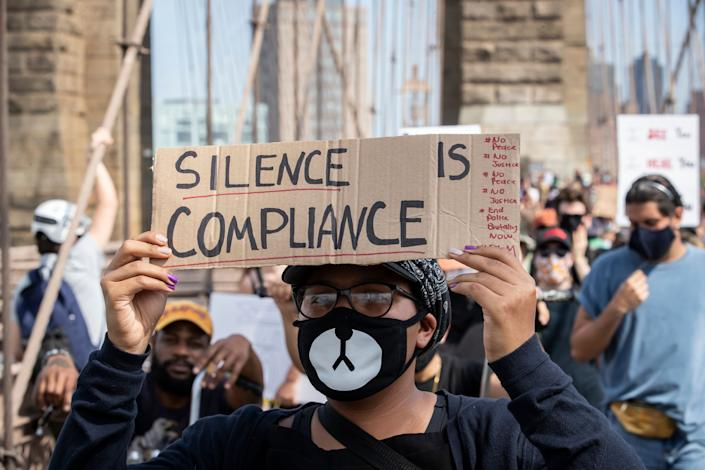 Across the U.S., people are marching to give a voice to the need for human rights for African Americans and to stop police brutality against people of color. (Photo: Ira L. Black - Corbis via Getty Images)