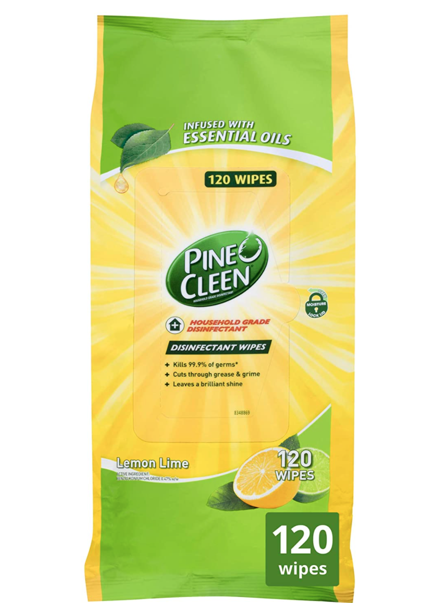 Pine O Cleen Disinfectant Surface Wipes