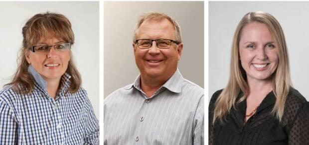 Councillors Crystal Kissel, Kevin Hanson and Samanntha Wright said they felt vindicated after a Calgary judge set aside sanctions against them last summer. Now they're heading back to court seeking lost wages. (Screenshot of the councillors' FundRazr page - image credit)