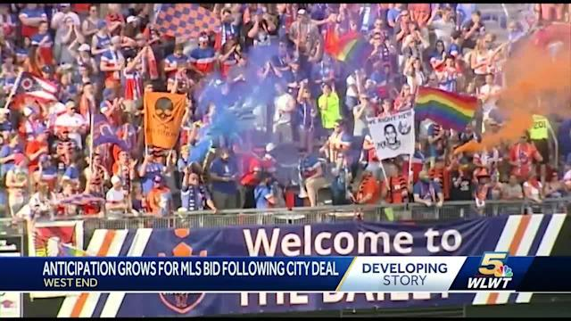 Anticipation grows for MLS big following city deal
