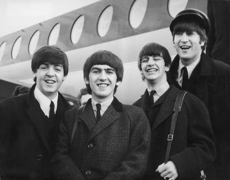 Beatlemania ushered in a new era of music — and neckties. (Photo: Getty)