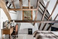 "<p>With its period charm, intimate nooks and intriguing antiques, we adore this Airbnb in York. Here you can sleep in a sleigh bed under ancient wooden beams, enjoy al fresco dining in the courtyard and take in the unique style of the Grade II* listed townhouse, which dates back to the 16th century.</p><p><strong>Sleeps:</strong> 7</p><p><strong>Make sure you... </strong>Put your kitchen skills into practice and socialise in the beautiful kitchen.</p><p><strong>Price per night: </strong>£200</p><p><a class=""link rapid-noclick-resp"" href=""https://airbnb.pvxt.net/QOye9a"" rel=""nofollow noopener"" target=""_blank"" data-ylk=""slk:BOOK HERE"">BOOK HERE</a></p>"