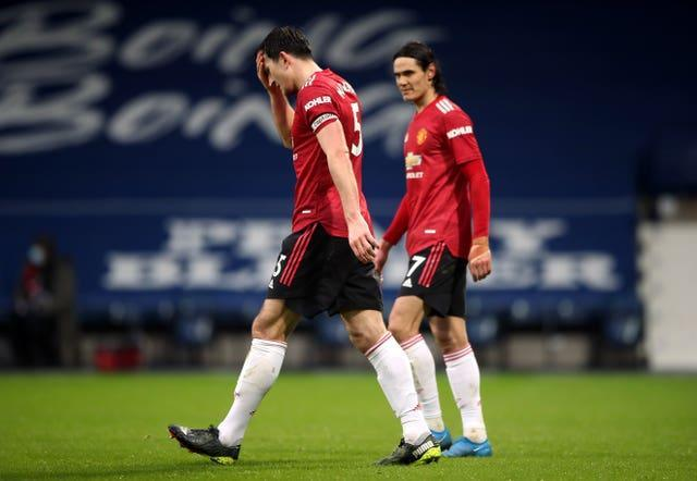 Manchester United were held to a 1-1 draw by struggling West Brom last weekend
