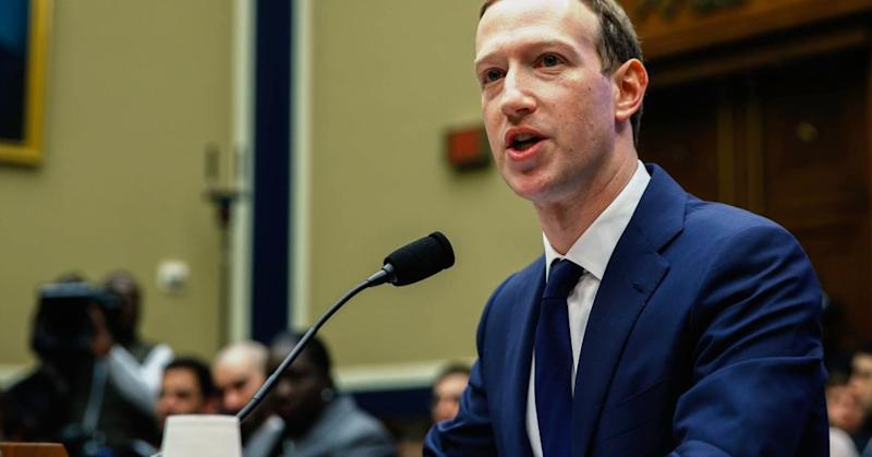 Facebook co-founder, Chairman and CEO Mark Zuckerberg testifies before the House Energy and Commerce Committee in the Rayburn House Office Building on Capitol Hill April 11, 2018 in Washington, DC.