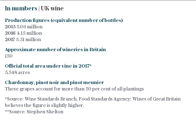 At a glance | UK wine in numbers