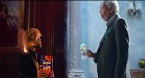 "<p>Widely hailed as one of the best Super Bowl ads of 2018, <em>Game of Thrones</em> star Peter Dinklage raps about Doritos opposite Morgan Freeman, who raps about Mountain Dew in the <a href=""https://www.youtube.com/watch?v=J0X90SSiUV0"" rel=""nofollow noopener"" target=""_blank"" data-ylk=""slk:one-minute spot"" class=""link rapid-noclick-resp"">one-minute spot</a>. Missy Elliot and Busta Rhymes also make cameos. </p>"