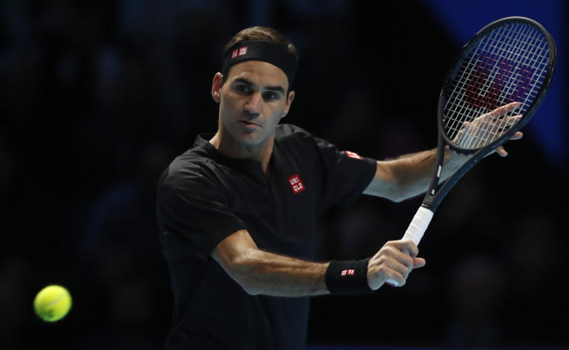 Roger Federer beats Matteo Berrettini for first win at ATP Finals