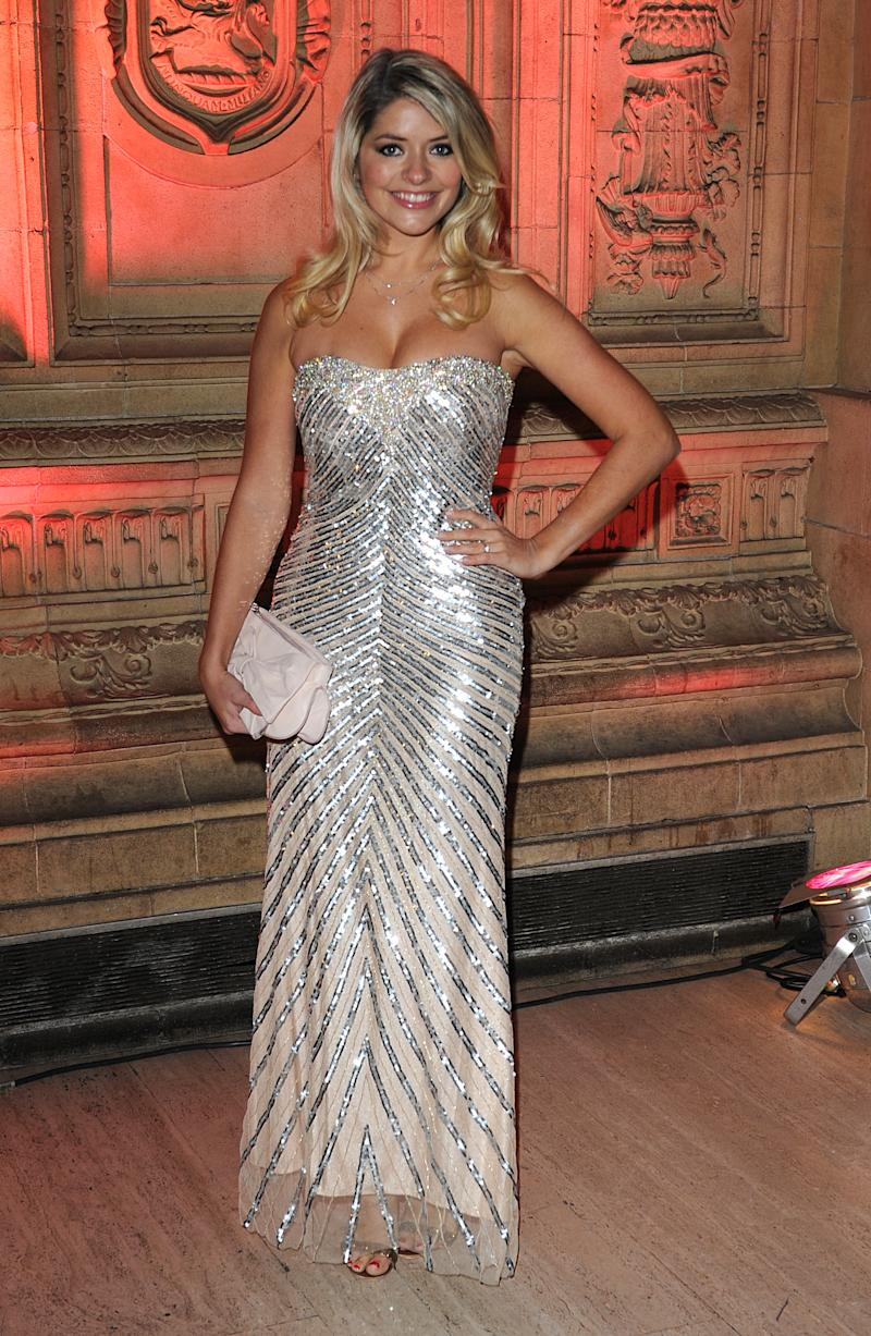 Holly Willoughby at the 2008 National Television Awards at the Royal Albert Hall, Kensington Gore, SW7. (Photo by Ian West - PA Images/PA Images via Getty Images)