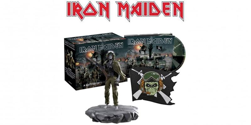 Iron Maiden announce fourth and final batch of The Studio Collection remastered CDs