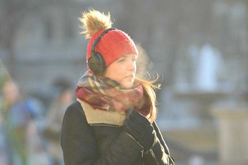 Commuters are facing cold weather early next week (Jeremy Selwyn)