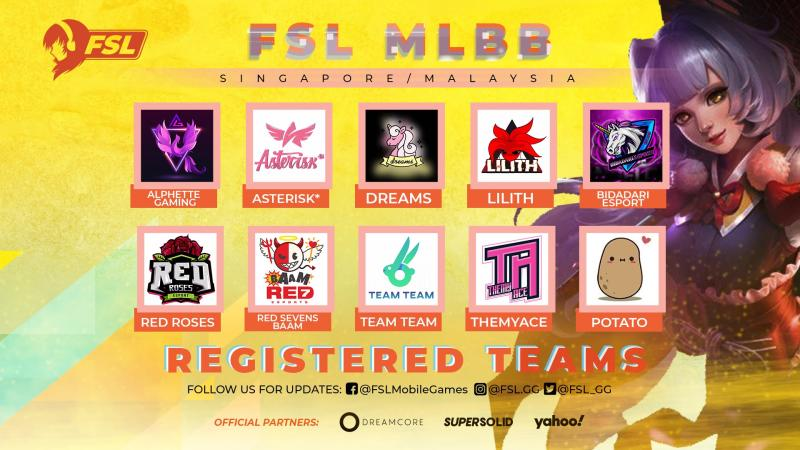 FSL Mobile Legends SG/MY (Singapore and Malaysia)